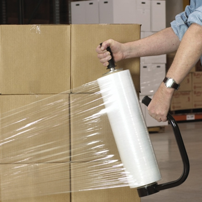 Plastic product packaging stretch film